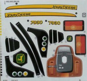 Aufklebersatz für John Deere 7930