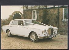 Road Transport Postcard - Rolls Royce Silver Shadow 1973 Wedding Car  T1001