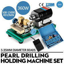 220V 360W Pearl Drilling Holing Machine Maker  Gold Control Set Full Set Tool
