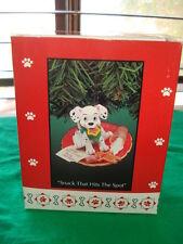 Enesco Christmas Ornament Disney's 101 Dalmatians SNACK THAT HITS THE SPOT