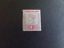 Leeward Islands - Victoria 1890 One Penny Mounted Mint