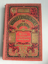 Michel Strogoff Jules Verne Hachette Hetzel 1932 bon état intérieur