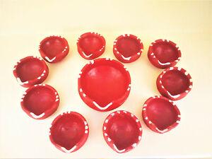 Clay Lamps Home Decors Festivel Oil Lamp 21 Pcs Set (Mitti ke Diye) Wicks Free