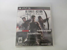Ultimate Action Triple Pack (Sony PlayStation 3) PS3 Brand New Factory Sealed