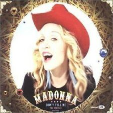 Madonna Don't Tell Me REMIXES OZ CD Single THUNDERPUSS