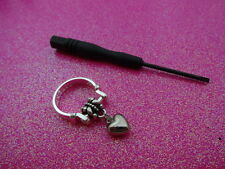 Changeable Charm Dangle Ring Size 6