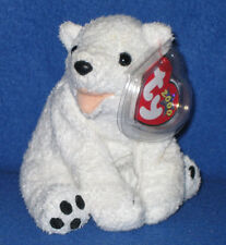 TY AURORA the BEAR BEANIE BABY - MINT with MINT TAG