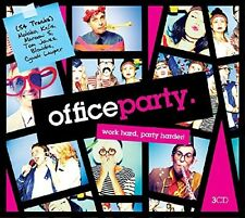 OFFICE PARTY feat. The Sugarhill Gang, Kelis,The Farm, Kool & The Gang 3 CD NEU