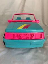 Mattel Barbie Doll Jeep Wrangler Dune Buggy/Car/Vehicle-Blue/Ho t Pink-1994