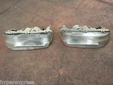 Honda Accord SM4 CB3 CB7 1992 1993 OEM Flush Bumper Fog Lights RARE