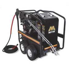 Mi-T-M 3000 psi 2.8 gpm Hot Water Gas Pressure Washer, GH-3003-3MGH