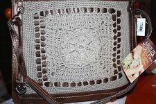 "Brighton ""Dawn"" hand crocheted purse NWT"