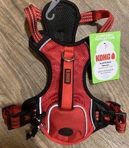 KONG COMFORT+ REFLECTIVE Pocket DOG HARNESS RedSMALL