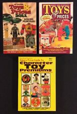 TOY PRICE GUIDES Lot of 3 HAKES CHARACTOR PREMIUMS 1996 KRAUSE 2001 & 2011