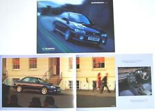 Subaru Impreza 2000 Turbo Sport GL 1999-2000 Original UK Brochure Pub. No. SB130