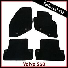 Volvo S60 Mk1 2000 - 2007 2008 2009 2010 Tailored Fitted Carpet Car Mats BLACK