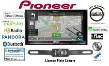 """Pioneer AVIC-7200NEX 7"""" GPS DVD Receiver w/ CrimeStopper Backup Camera"""