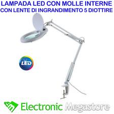 Lampada Con Lente Ingrandimento Da Tavolo In Vendita Ebay