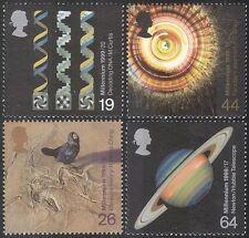 GB 1999 Millennium/SCIENCE/PLANET/Astronomy/BIRD/NATURE/L' ADN/Medical 4 V (n33565)
