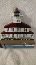 New Canal Light New Orleans La Retired 1996 Shelia's House Collectibles