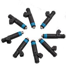 8 pcs Fuel Injectors for Ford GM V8 LT1 LS1 LS6 High Impedance Set 80LB/835CC