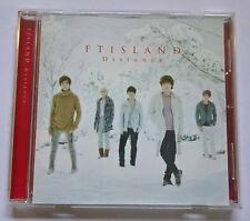 FTISLAND Distance Normal Edition Japan Press CD - No Photocard FT ISLAND