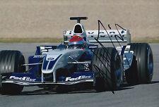 Nelson Piquet Jr Hand Signed Bmw Williams F1 12x8 Photo.