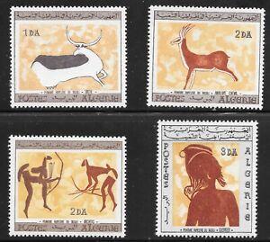 Algeria (1967) - Scott # 365 - 368,   MNH