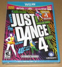 Just Dance 4 (Nintendo Wii U) Brand New Fast Shipping