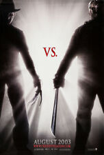 Freddy Vs. Jason Movie Poster 2 Sided Original Advance Vf 27x40 Robert Englund