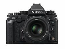 Nikon Df 16.2MP Camera Body + DF 50mm F/1.8 Lens Special Edition kit -Black-