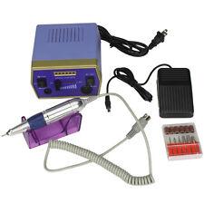 New Pro Nail Art Electric Nail File Drill Manicure Tool Pedicure Machine kit C-6