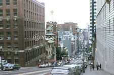 ORIGINAL SLIDE SL76  ☆  1962 SAN FRANSISCO STREET SCENE CARS 399A