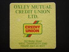 OXLEY MUTUAL CREDIT UNION LTD 142 BRIDGE ST WEST TAMWORTH 067 658077 COASTER