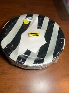 Spritz Graduation Snack Plates White/Black 30 Count fast free same day shipping