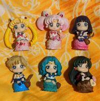 Sailor Moon Megahouse Petit Chara Ice Cream Party Authentic Set Outer Senshi