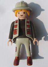 Playmobil Dinosaurier FORSCHER aus 4172 Dino Figur Frau Zubehör Ersatzteil