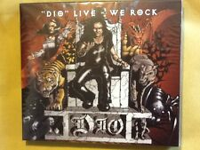 DIO.               LIVE. WE. ROCK.       COMPACT DISC. /.  DVD BOXSET
