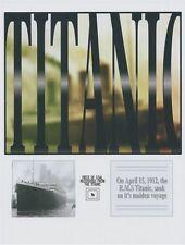 Titanic/ White Star Line