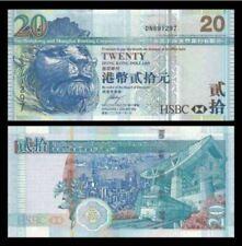 Hong Kong $20 HSBC Bank 2009 (UNC)