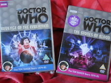 Doctor Who - DVD lote colección stones of blood & revenge of the cybermen