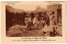 CPA INDE - Le T.R.P. Armand à Bhawanikhera - Capucins Français, Mission du Sacré