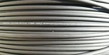 50 metri Cavo 12 Fibre Fibra ottica Multifibra Multimode OM4 50/125 grigio
