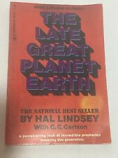 The Late Great Planet Earth By Hal Lindsey  (1973, Paperback, 192 Pages)