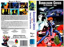 """VHS - """" Bubblegum CRISIS - Die Cyberpunk-Saga Vol. 1 """" -- 100 min. - MANGA Anime"""