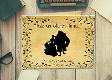 Disney Inspired Personalised Wedding Guest Book, Photo Album, Scrapbook