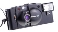 Olympus XA 2 mit Zuiko 35 mm f 3,5 + Flash A11 Tested and Working