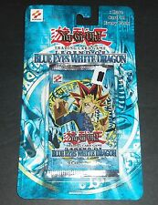 ORIGINAL Legend of Blue Eyes White Dragon Blister Pack Sealed LOB Yugioh Cards