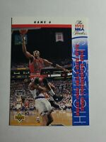 CHICAGO BULLS HORACE GRANT 1993-94 UPPER DECK BASKETBALL CARD # 203 D6777