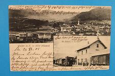 Alsace Bas-Rhin Elsass 67 AK CPA Weiler 1905 Villé Gare Chemin de Fer Ville Mais